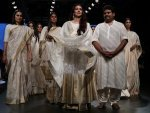 Tabu Walked For Guarang At Lakme Fashion Week Summer Resort