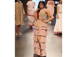 Ada Sharma Walks For Galang Gabaan Lakme Fashion Week