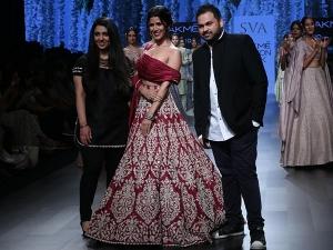 Nimrat Kaur Walks The Ramp For Sva Lakme Fashion Week Summer Resort