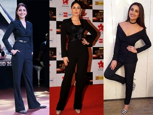 Celebrities Ditch The Gown For Pantsuits
