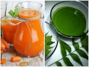 Health Benefits Neem Carrot