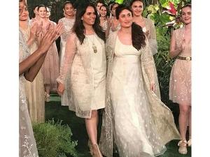 Kareena Kapoor Walks For Anita Dongre Lakme Fashion Week