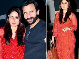 Kareena Kapoor Saif Ali Khan Casual Lookbooks
