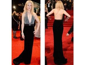 Nicole Kidman Red Carpet Dress Bafta Awards