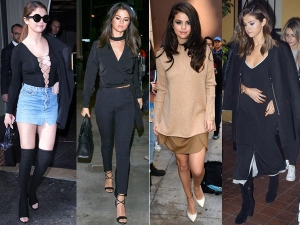 Selena Gomez Street Lookbooks