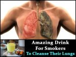 One Drink That Helps Smokers To Cleanse Their Lungs