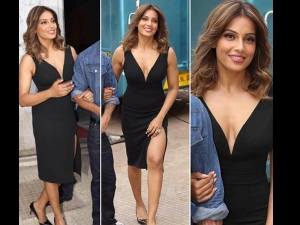 Bipasha Basu In Hot Black Dress