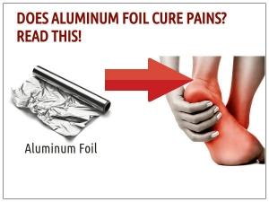 Aluminium Foil For Pain Relief