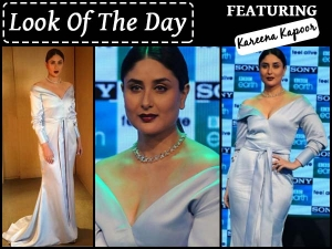 Kareena Kapoor Wearing Nikhil Thampi Powder Blue Gown