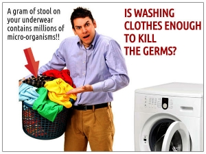 Is Washing Clothes Enough To Kill The Germs