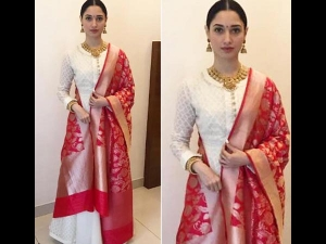 Tamannaah Bhatia Wearing Matsya World Suit