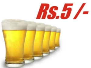 A Beer Cafe That Is Offering Beer At Just Rs Five