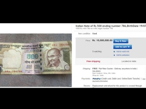 Old Indian Currency Sold For Millions