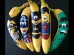 Man Gets Paid For Painting Bananas