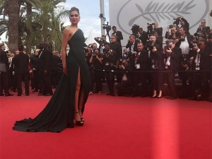 Deepika Is Back To Slay This Time In Bottle Green