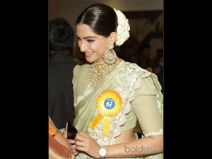 Classy And Traditional Sonam S Look At The National Awards