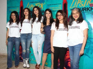 Entire Cast Lipstick Under My Burkha Turned Sassy During Its Trailer Launch