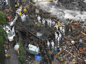 Devastating Images Of Two Thousand Seventeen Japan Flood