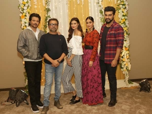 Exclusive Mubarakan Cast Styles Again A Photoshoot