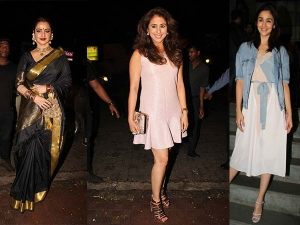 Stars Sizzled At This Latest Birthday Party