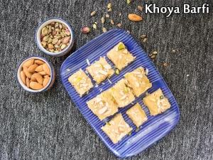 Khoya Barfi