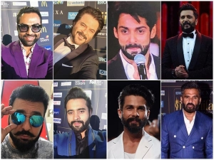 Full Beard Styles By Bollywood Men At The Iifa