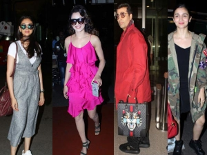 Enroute Iifa Celebrities Rocked Their Style Journey Iifa