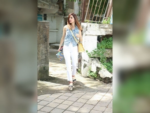 Sussanne Khan Carried Super Cool Day Night Look