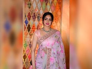 Sridevi With Kanika Kapoor Styled Elegantly A Recent Event