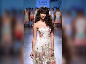 The Stunning Disha Patani Sizzled Ritu Kumar Label