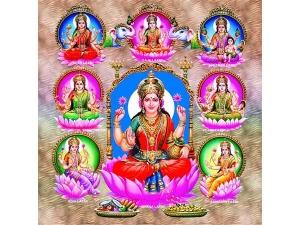 Pleasing Ashta Lakshmi On Vara Mahalakshmi Pooja