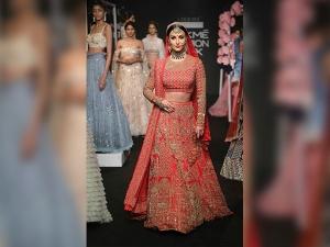 Lakme Fashion Week Elli Avram Turned Into Royal Bride