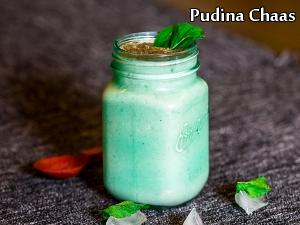 Pudina Chaas