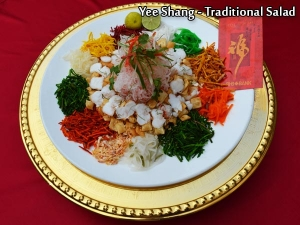 Yee Shang Traditional Salad