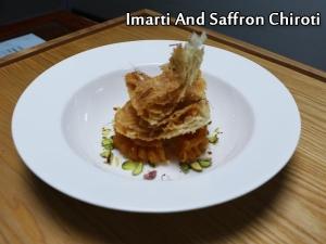 Imarti And Saffron Chiroti