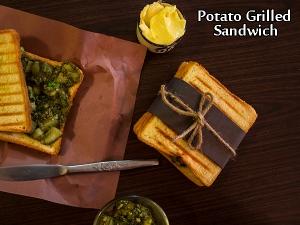 Potato Grilled Sandwich