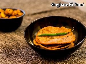 Singhare Ki Poori