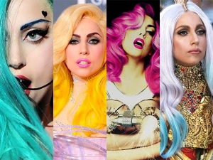 Outrageous Hair Colour Experiments Lady Gaga That Truly Rocked Every Bit
