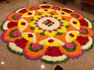 Rangoli Or Pookalam Designs For This Onam