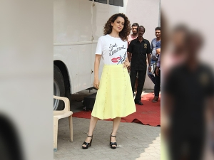 Kangana Ranaut Brought Summer Monsoon With Her Casual Style