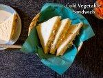 Cold Vegetable Sandwich