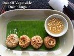 Duo Of Vegetable Dumplings