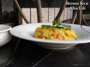 Brown Rice Khichdi