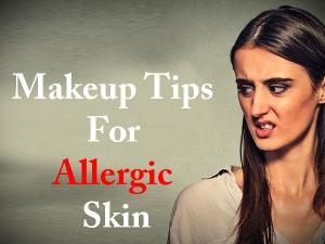 Makeup Tips For Allergic Skin