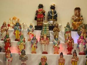Traditional Golu Theme For Dusshera