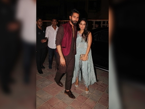 Shahid Mira Rocked Their Looks At Masaba Gupta S Diwali Bash