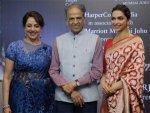 Deepika Padukone Met Dream Girl Hema Malini At Her Book Launch Both Looking Etheral