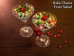 Kala Chana Fruit Salad