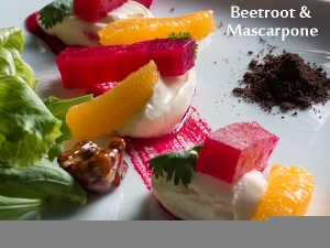 Beetroot And Mascarpone Salad
