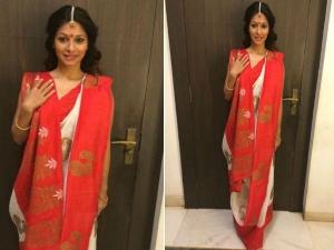 Tanishaa S Durga Puja 2017 Style Diaries